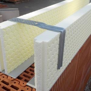 HDO-VARIO-Schalklammer als obere Abspannung für Ringbalken- oder Sturzschalung